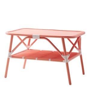 Table Basse, Rice — Orange Corail, Ponio