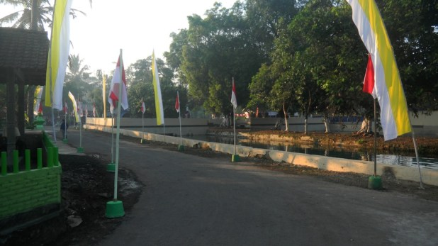 Suasana Lingkungan Lomba Desa Tingkat Nasional