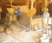 pengolahan kacang kupas
