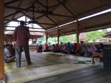 Ramah Tamah bersama DPD dan Perangkat Kebunbimo di Taman Kuliner