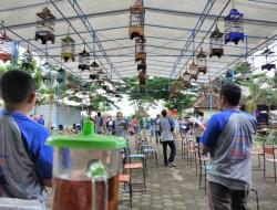Latihan Bersama (LATBER) Burung Berkicau Perdana di Ponjong Enterprises
