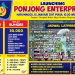 Launching Ponjong Enterprises