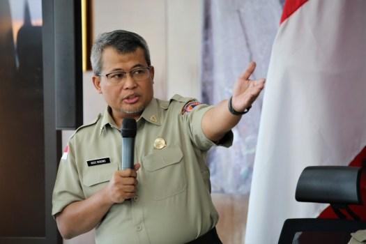 Profil Dr Agus Wibowo, M Sc Plh Kapusdatin BNPB 2019