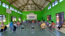 Suasana LPJ BUMDes Hanyukupi Tahun 2019 di Gedung Saemaul
