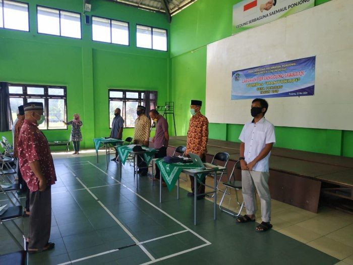 Suasana Pembukaan LPJ BUMDes Hanyukupi 2019