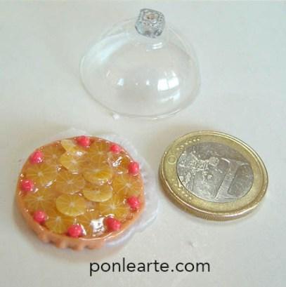 Dulces en miniatura. Los gajos de naranja son de Angie Scarr
