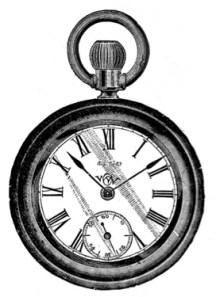 Disfraces recortables Alicia Reloj