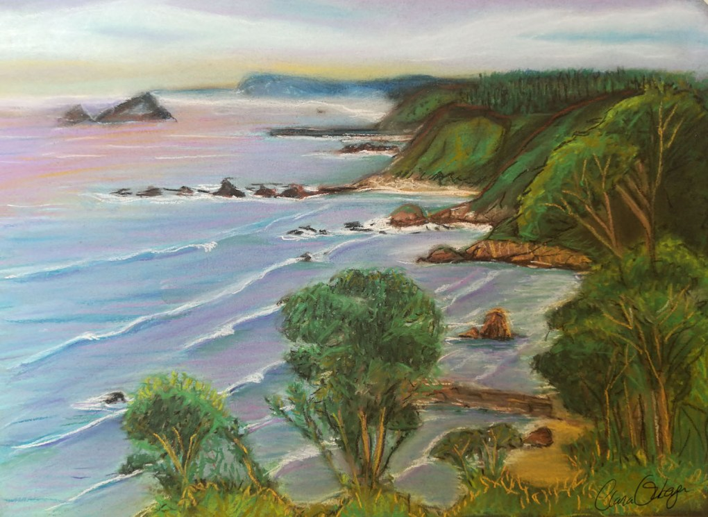 Pintura pastel Clara Ortega Klartkraft