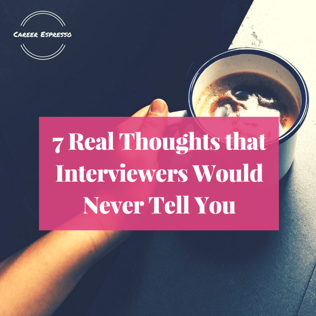 interviewers real thought