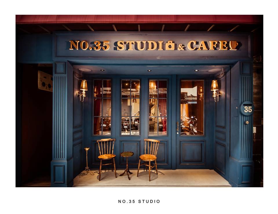 2017上半年熱門攝影棚 - NO.35 Studio。参拾伍號攝影棚咖啡