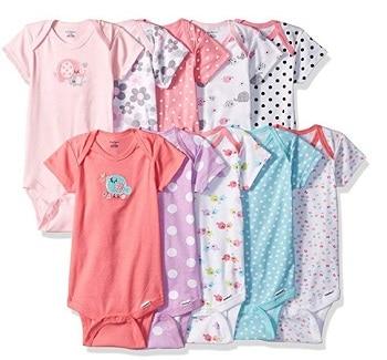 בגדי גוף לתינוקות בנות של גרבר באמזון