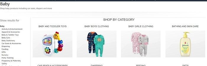 בגדי תינוקות באמזון במבצע