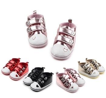 נעלי צעד ראשון חגיגיות לתינוקות