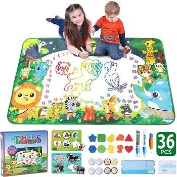 משטח ציור עם מים לילדים