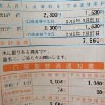 「3月、4月」上水道、下水道併せて尾道市の水道料金ってどれぐらいだろうか?