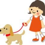 娘と犬の散歩が最高に気持ちいい!