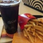 マクドナルドでマックポテトを食べながらブログの更新は本当におススメです。