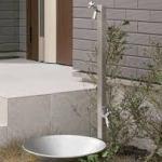 家の外の水道栓の配置の簡単な決め方