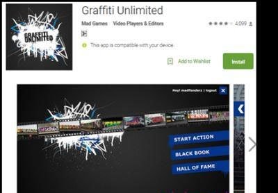 Download Aplikasi Grafifti Unlimated