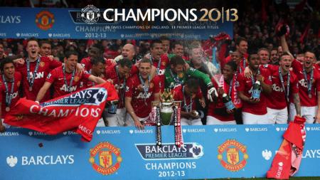 Machester United Win Liga Champions 2013