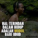 Meme Lucu udud karo modol bahasa jawa
