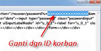cara mengetahui password facebook orang lain terbaru