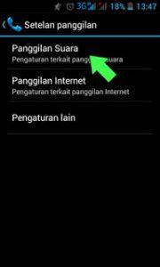 cara menggunakan private number di hp android