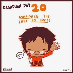 dp bbm ramadhan muslimah lucu hari ke-20