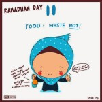 DP BBM Gambar Kartun Muslimah Lucu Seri 2 Ramadhan