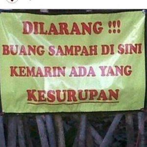 dp bbm peringatan
