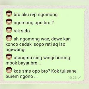 dp bbm chattingan whatsapp bahasa jawa