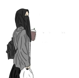 gambar dp bbm muslimah