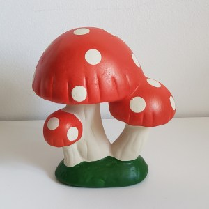 Cogumelo Decorativo Cerâmica