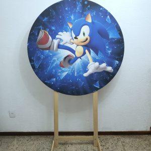 Tecido Sublimado Sonic