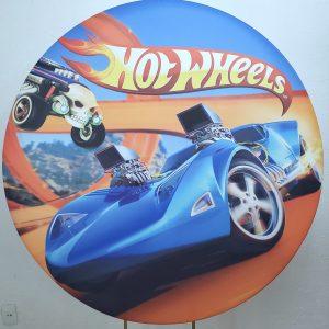 Tecido Sublimado Hot Wheels