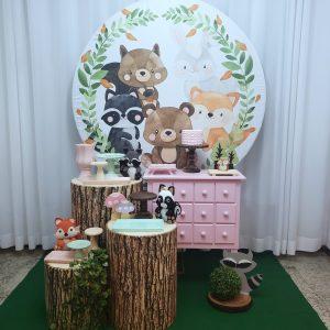 Festa Pocket Bosque Menina