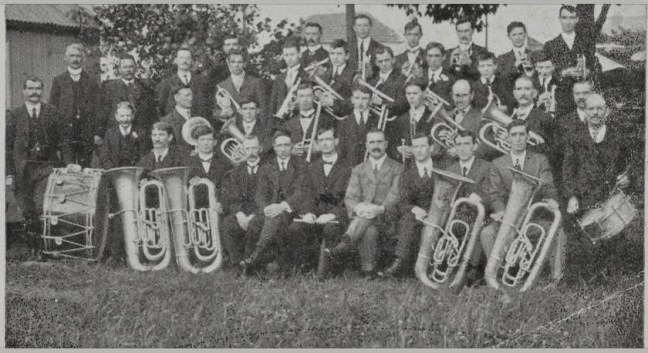Band Arian Tref Pontarddulais, 1915