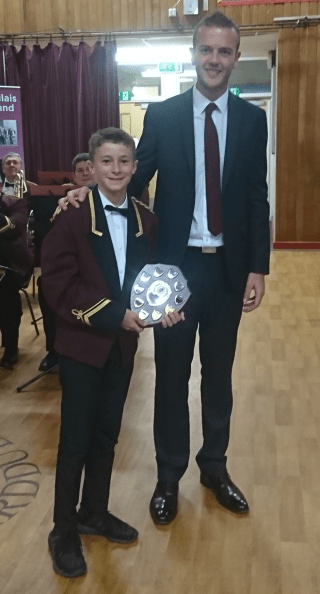 Junior Player of the Year - Aled Tumelty