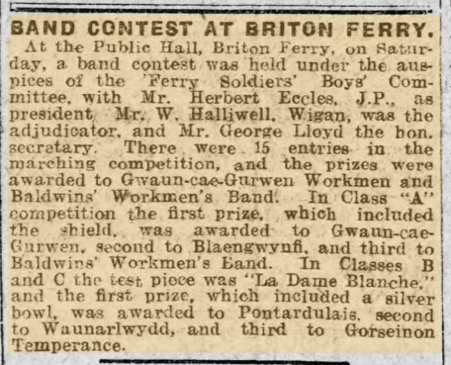 Briton Ferry 1917
