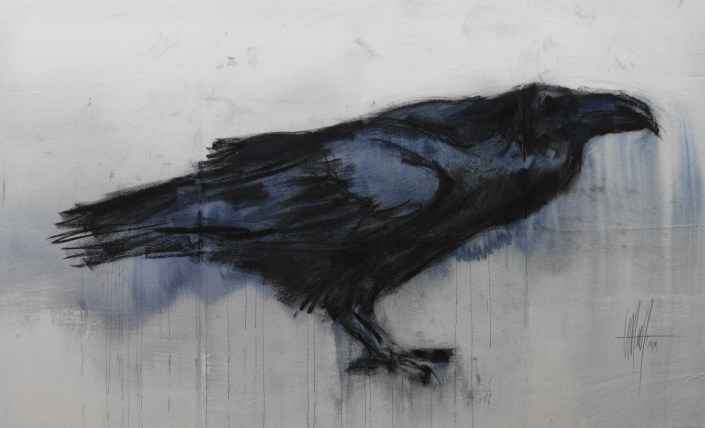 artwork by Marc Prat: Raven I