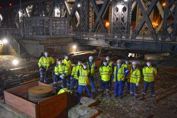 La mise en fumier du circuit hydraulique du pont Colbert ®Ville de Dieppe