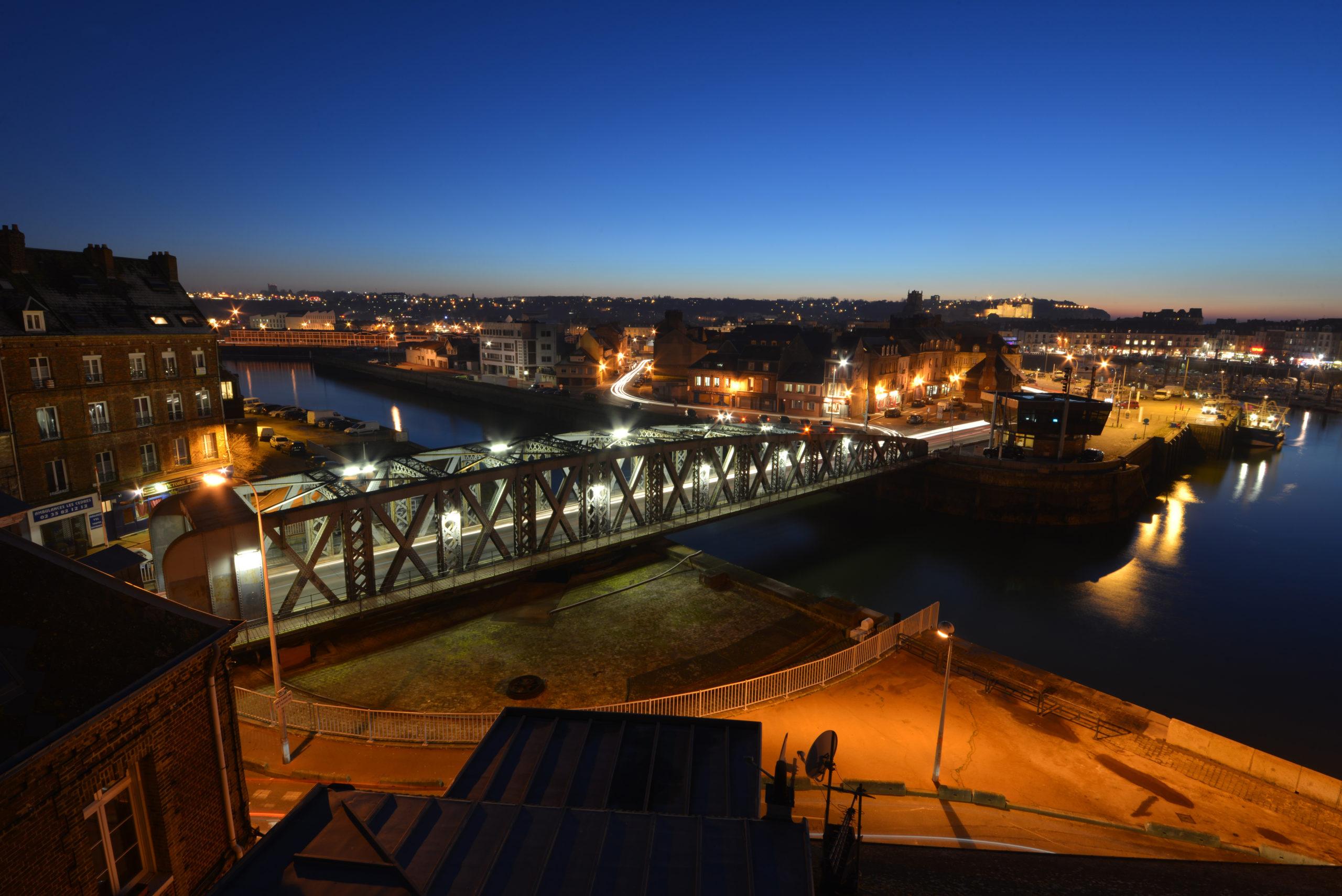 Le pont Colbert ®Ville de Dieppe