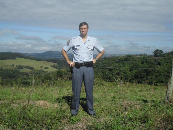 Maurício Marchese Rodrigues nos tempos da ativa (Foto: reprodução)