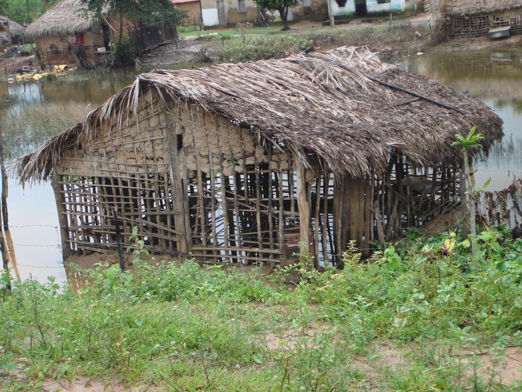 Cáritas está trabalhando em projeto de reconstrução de moradias destruídas pelas enchentes. Foto: Acervo Cáritas Brasileira Regional Maranhão