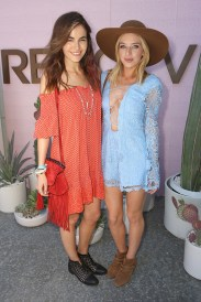 THERMAL, CA - APRIL 17: Actress Camilla Belle and musician ZZ Ward attend REVOLVE Desert House on April 17, 2016 in Thermal, California. (Photo by Ari Perilstein/Getty Images for A-OK Collective, LLC.)