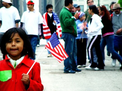 Image Source: jvoves, Flickr, Creative Commons Chicago Immigration Protest May 1, 2006