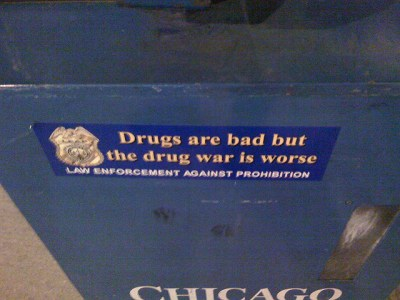 Image Source: Neal Jennings, Flickr, Creative Commons Drugs are bad but the drug war is worse
