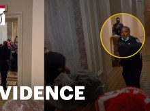New Parler Video Shows Tense Confrontation Between Rioters and Capitol Police Officer Eugene Goodman