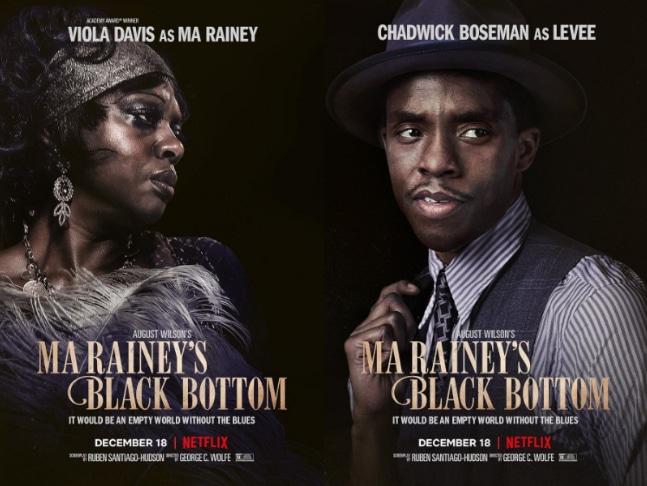 Ma Rainey's Black Bottom movie banner