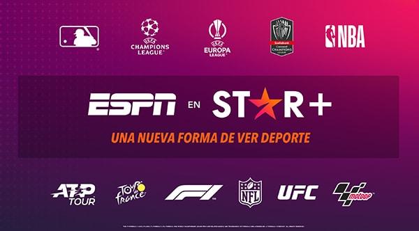 ESPN en Star + Pontik®